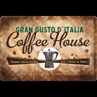 ..Blechschild - Coffee House