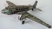 Blech Flugzeug Boeing C-47