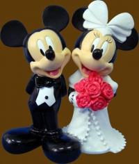 Mickey & Minnie getting Married