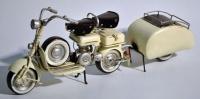 Roller mit Anhänger 1954