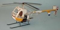 Blech Helikopter