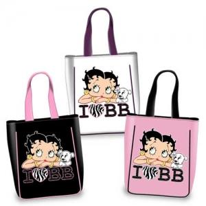 BB Shopping I Love BB in weiss und rosa
