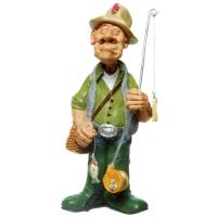 .Angler Figur