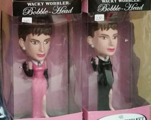 """Audrey Bobble Head """"Breakfast at Tiffany's"""""""