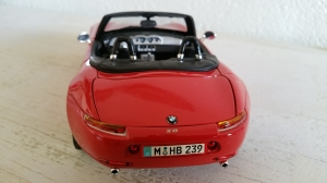 as - BMW Z8 Cabrio rot schwarz