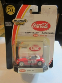 Coca Cola Matchbox Collectible BMW Z 3