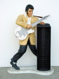 Elvis CD Rack  3ft.