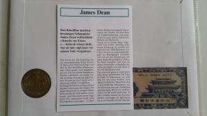 James Dean Numisbrief
