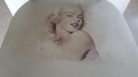 Marilyn Stuhl im Shabby Look