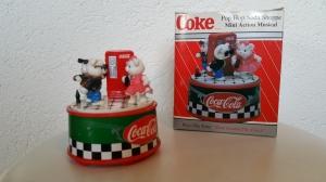 Coca Cola 1994 Enesco Music Box