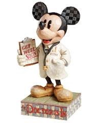 The Doctor is in Mickey Mouse