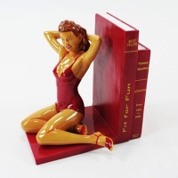 Kultige Pin up Buch oder CD Stütze