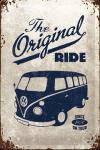 ..Blechschild - VW Bulli - The Original Ride