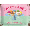 .Blechschild - Fairy Cakes - Fresh every Day