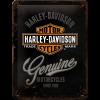 .Blechschild - Harley Davidson Genuine Logo