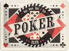 .Blechschild - Poker Club