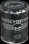 Vorratsdose Rund Harley Davidson Skull