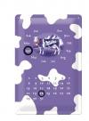 ..Blechschild Kalender - Milka