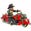 .Firefighter Biker