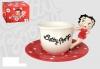 Betty Boop Tasse mit Figur als Haltegriff