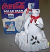 Coca Cola Polar Bear Mechanical Bank
