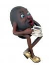 Kaffeebohnen Figur
