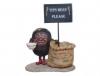 Kaffebohnen Figur mit Sack
