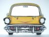 Chevy Front mit Spiegel