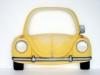 "Volkswagen ""Beetle"" Front mit Spiegel"
