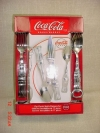 Coca Cola 17pcs Classic Bottle Flatware set