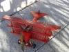"""Blech Flugzeug Fokker """"Red Baron"""""""