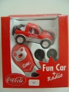 Coca Cola Fun Car + Radio