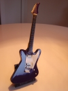 Miniatur Gitarre s/w