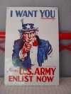 "-I Wont You ""for the U.S. ARMY"""
