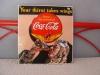 -Coca Cola Emailschild