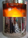 Virtualflame - Virtuelle Flame in Metallgehäuse