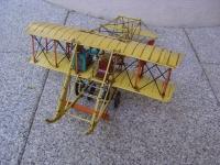 Blech Flugzeug Wright