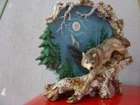Wolf Motiv Teller