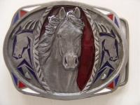 Gürtelschnalle Horse
